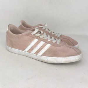 Adidas Womens Neo Courtset Pink Sneakers Shoes